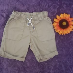 3 for $15 CAT & JACK TAN CARGO SHORTS SZ 5T